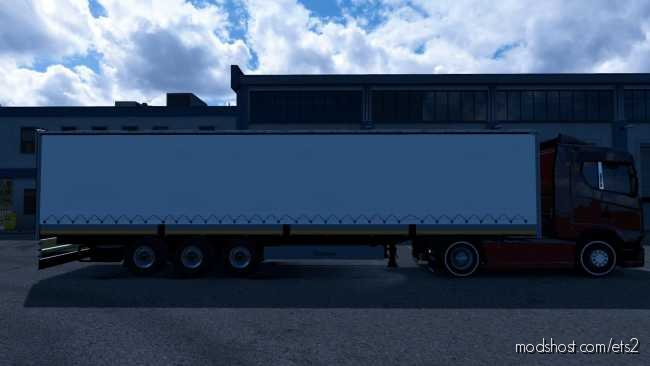 Krone Curtain Trailer [1.36] for Euro Truck Simulator 2