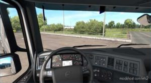 Volvo FH 2009 Interior 12.04.20 [1.37.X] for Euro Truck Simulator 2