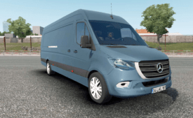 Mercedes-Benz Sprinter VS30 VAN 316 CDI 2019 V2.0 (1.36) for Euro Truck Simulator 2