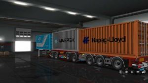 D-Tec Combitrailer [1.36.X] for Euro Truck Simulator 2