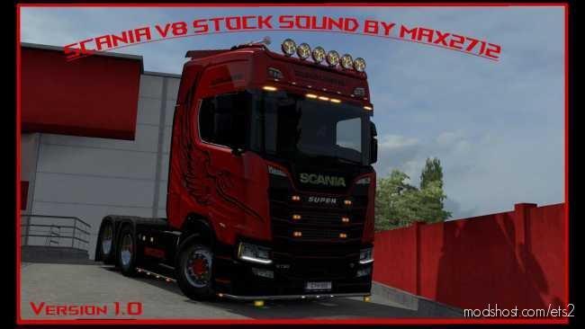 Improvement And Rework Scania 2016 V8 Stock Sound for Euro Truck Simulator 2
