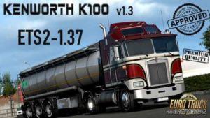 Kenworth K100 V1.3 [1.37] for Euro Truck Simulator 2