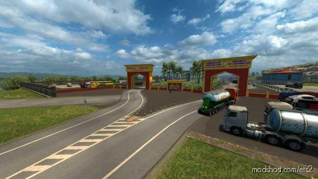 Rescale YKS Turkey Map V2.1.1 [1.36] for Euro Truck Simulator 2