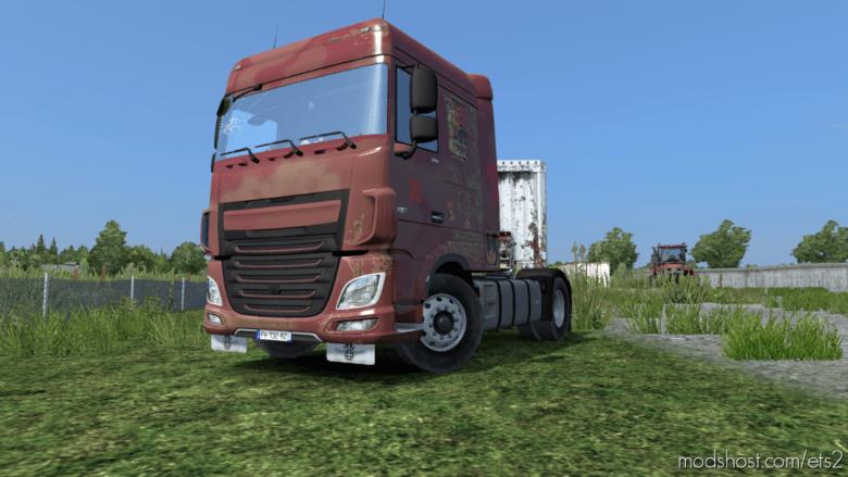 DAF Euro 6 Vinatge Interior And Rusty Skin [1.36] X for Euro Truck Simulator 2