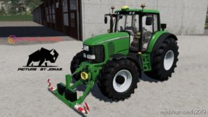 John Deere 6X20 V1.1 for Farming Simulator 19