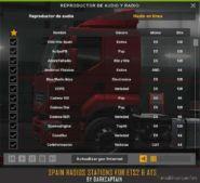 Spain Radios Stations V 1.3 (12 April 2020) for American Truck Simulator