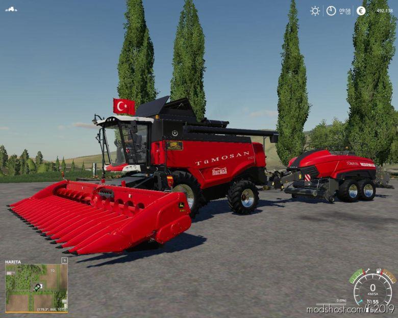 Bicerdoverserisi Activa Paketi V2.0 for Farming Simulator 19