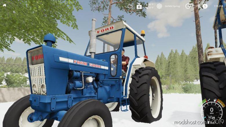 Ford 5000 V2.0 for Farming Simulator 19