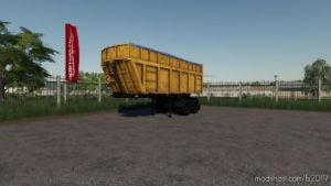 Semitrailer MAZ-950600-030 V1.0.0.1 for Farming Simulator 19