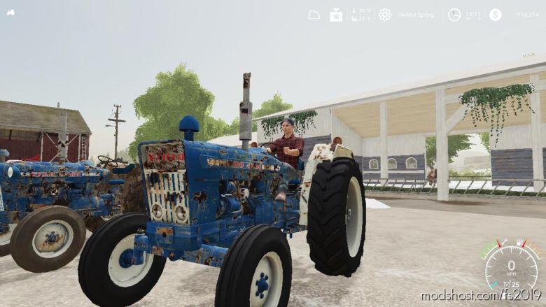 Ford 4000 Euro for Farming Simulator 19
