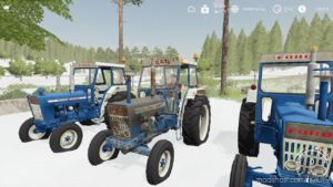 Ford 7000 Euro Worn V2.0 for Farming Simulator 19