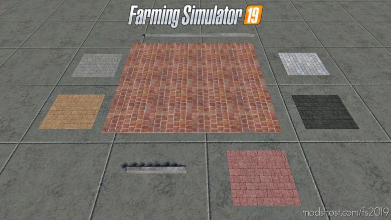 Placeable Brick Pack for Farming Simulator 19