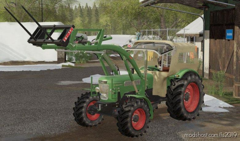Fendt Favorit 4 Nachbau for Farming Simulator 19