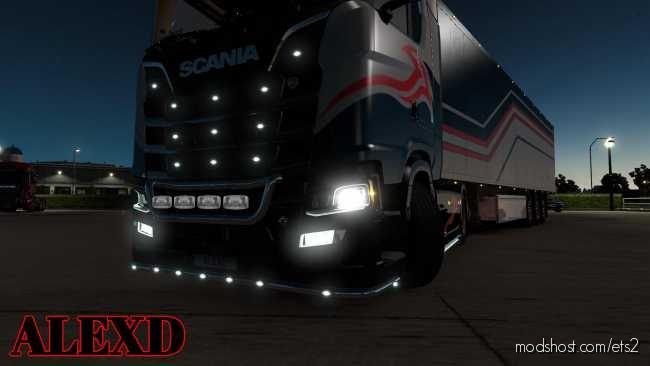 Alexd FOG Light For Scania S & R 2016 V1.3 for Euro Truck Simulator 2