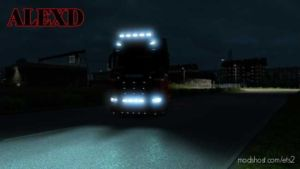 Alexd Flare And 5500 K Lights For ALL Trucks V1.5 for Euro Truck Simulator 2