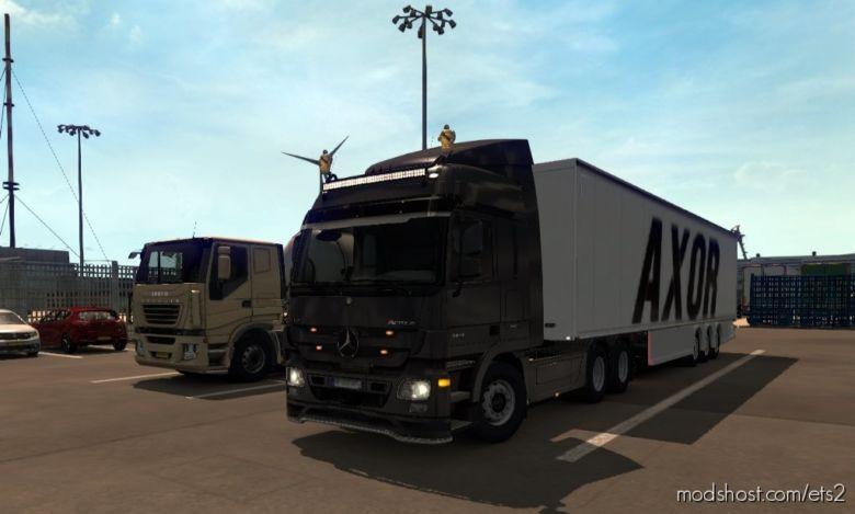 Merdeces-Benz Axor Ski̇n for Euro Truck Simulator 2