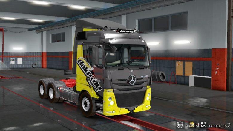 Mercedes_Actros _Rafael Alves [1.36] for Euro Truck Simulator 2