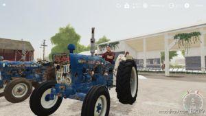 Ford 4000 Worn V2.0 for Farming Simulator 19