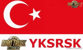 Yksrsk Turkey Map Rescaled V2.1.1 (1.36.X) for Euro Truck Simulator 2