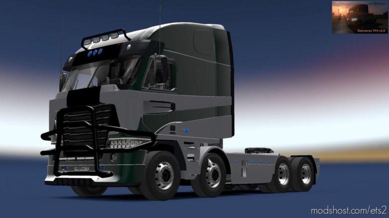 Galvatron TF4 + Interior V2.0 (BSA Revision) [1.36.X] for Euro Truck Simulator 2