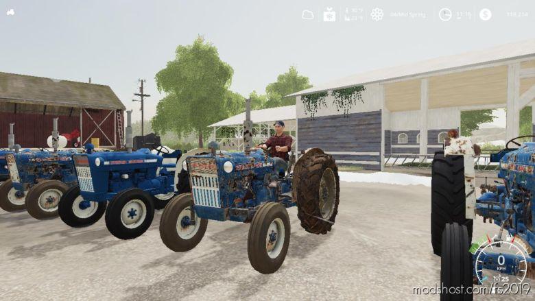 Ford 3000 NA Worn for Farming Simulator 19