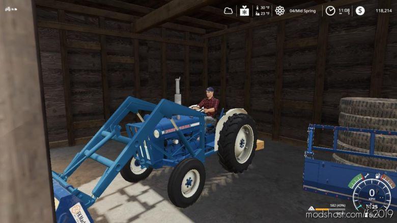 Ford 3000 NA for Farming Simulator 19