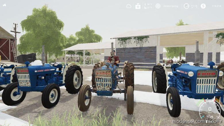 Ford 3000 Euro Worn V2.0 for Farming Simulator 19