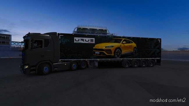 Skin Trailer Urus [1.37] for Euro Truck Simulator 2
