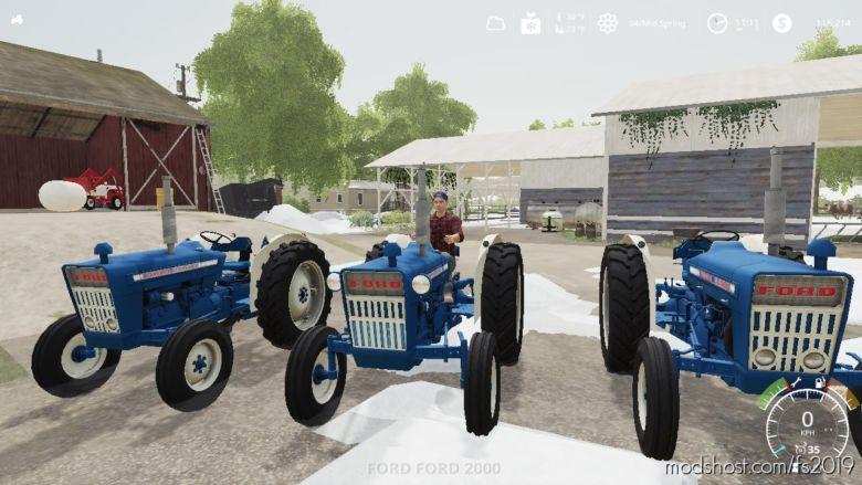 Ford 2000 NA for Farming Simulator 19