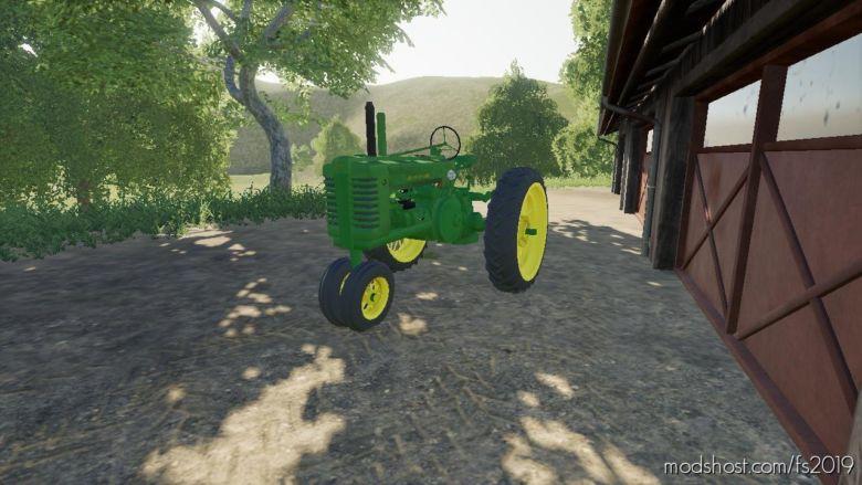 John Deere A for Farming Simulator 19