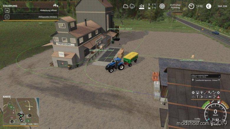 Holzer Map – Autodrive Kurs V1.0.1 for Farming Simulator 19