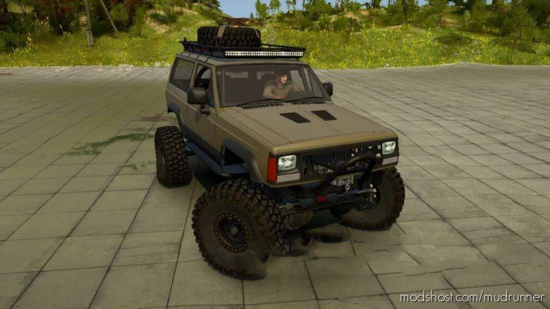 Jeep XJ 2 Door Mod for MudRunner