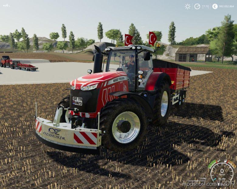 Massey Ferguson 8737 TR V1.5 for Farming Simulator 19