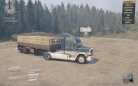 Semi-Trailer With Cargo Default for MudRunner