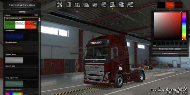 Volvo Multicolor Skin Pack [1.37] for Euro Truck Simulator 2