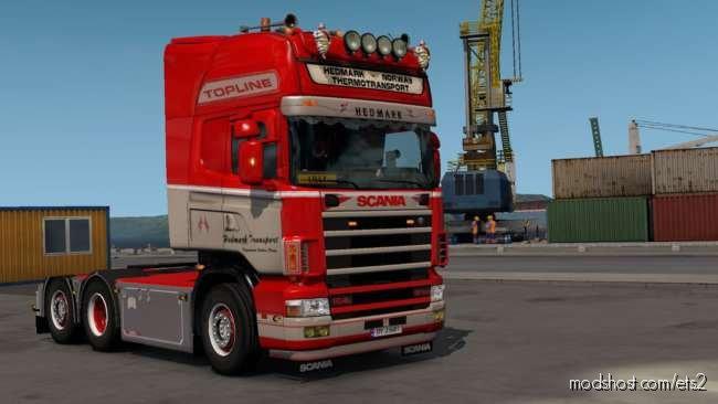 Scania RJL 4S & 5S Skinpack / Hedmark Transport / V3.0 for Euro Truck Simulator 2