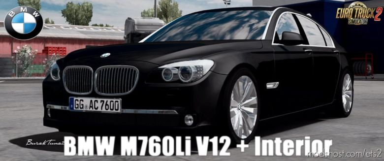BMW M760LI + Interior -Update- (1.36.X) for Euro Truck Simulator 2