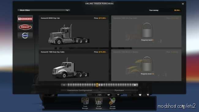 Truck Dealer for Euro Truck Simulator 2