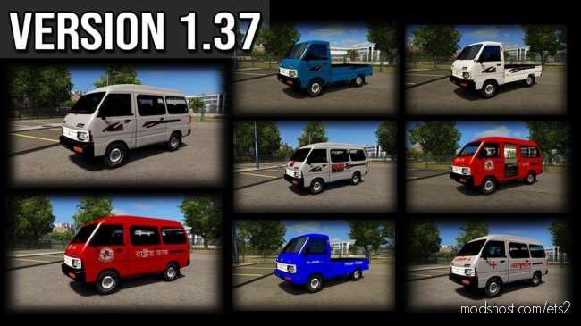 Omni VAN [1.36.X] for Euro Truck Simulator 2