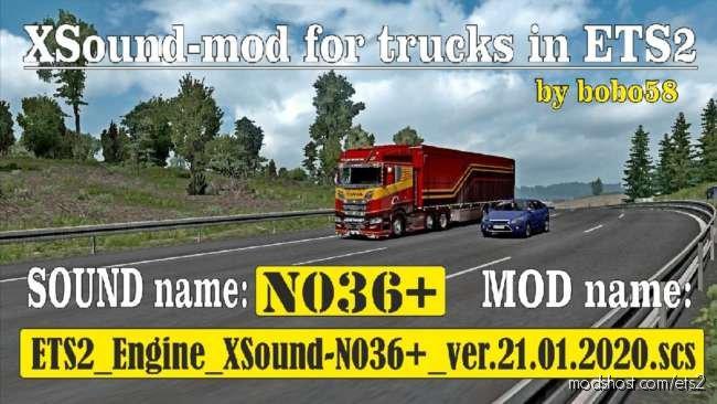 Engine Sound N036 + [1.36.X] for Euro Truck Simulator 2