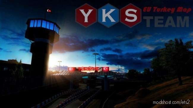 YKS Team EU Turkey Map [1.37.X] for Euro Truck Simulator 2