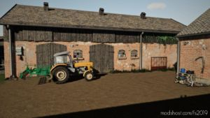 Small Cowshed With Pasture for Farming Simulator 19