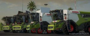 Claas Lexion 6700 for Farming Simulator 19