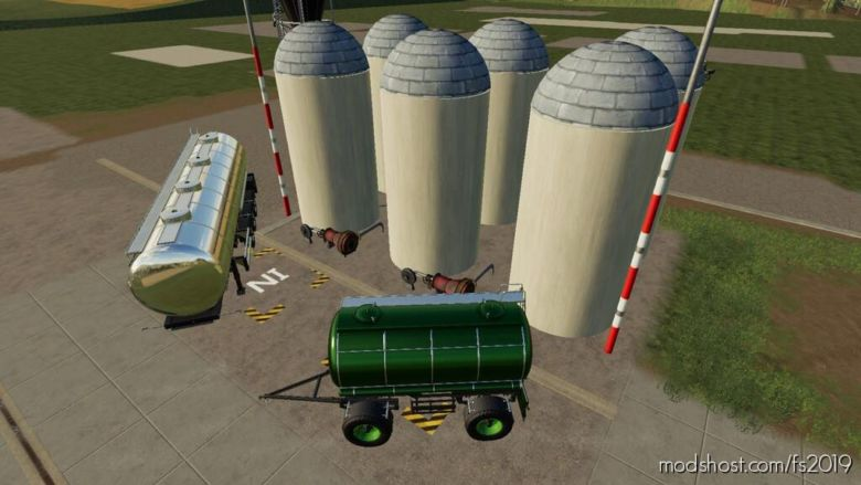 Liquid Silo for Farming Simulator 19