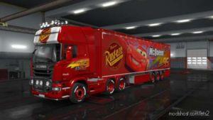 Lightning Mcqueen Skin for Euro Truck Simulator 2