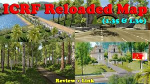 ICRF Reloaded V0.1 Map For 1.36.x.x for Euro Truck Simulator 2