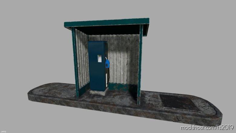 Small GAS Station for Farming Simulator 19