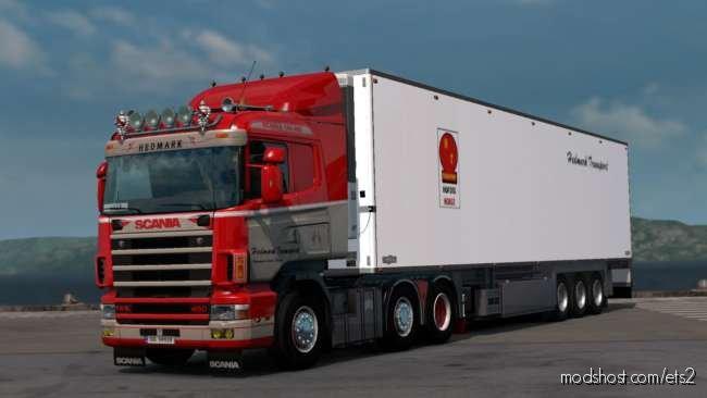 Scania RJL 4 Series Topless Hedmark Transport Skin for Euro Truck Simulator 2