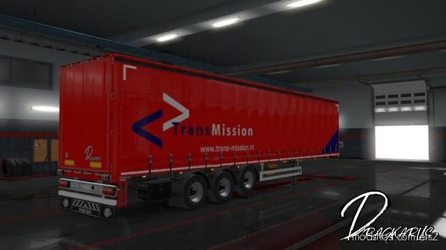 Trans-Mission Transport Trailer Skin for Euro Truck Simulator 2