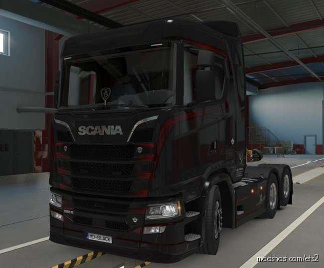 Scania NG 2016 S&R V8 Sound V1.37 for Euro Truck Simulator 2